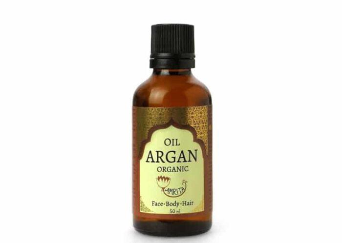 арганово масло в бутилка, готова за употреба