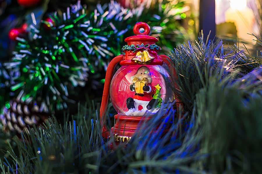 Коледна украса - преспапие