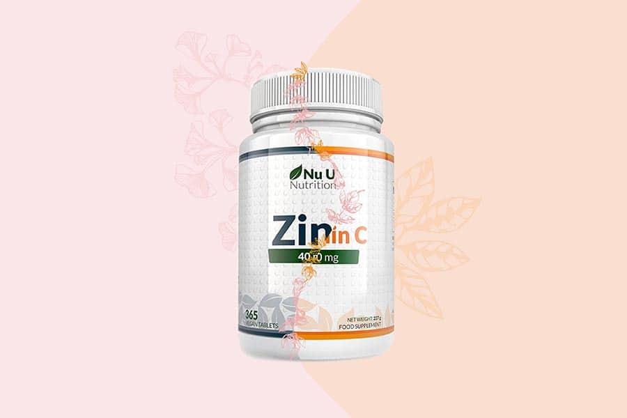 Комбинация между витамин С и цинк.